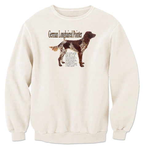 Natural German Longhaired Pointer Sweatshirt