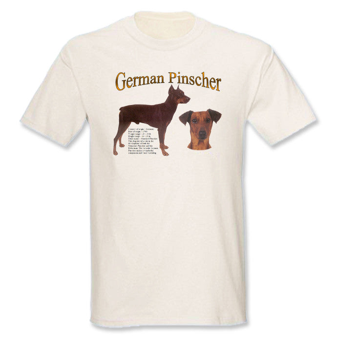 Natural German Pinscher T-Shirt