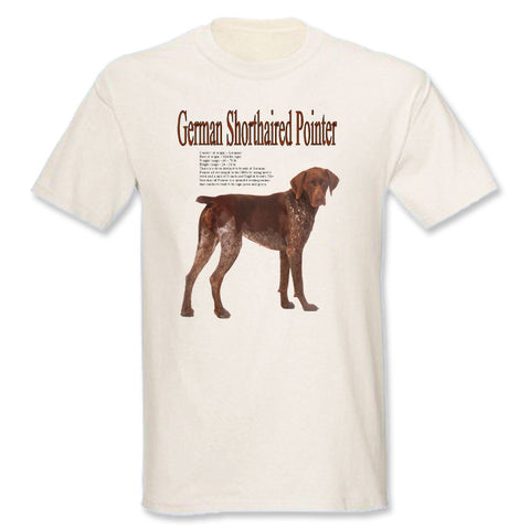 Natural German Shorthaired Pointer T-Shirt
