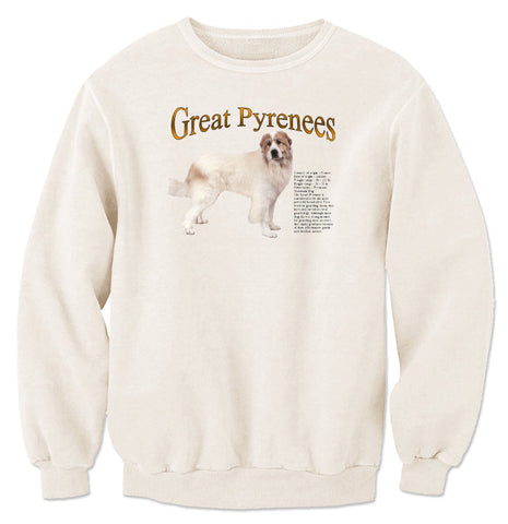 Natural Great Pyrenees Sweatshirt