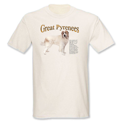 Natural Great Pyrenees T-Shirt