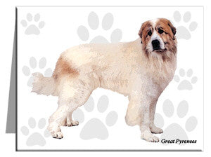 Great Pyrenees Note Cards