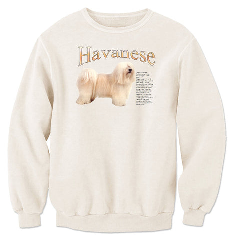 Natural Havanese Sweatshirt