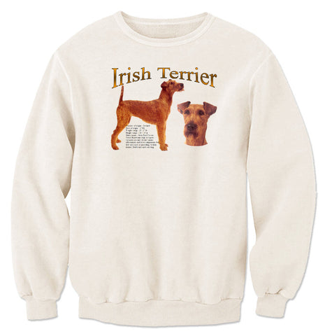 Natural Irish Terrier Sweatshirt