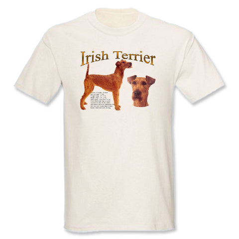 Natural Irish Terrier T-Shirt