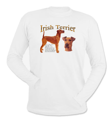 White Irish Terrier Long Sleeve T-Shirt