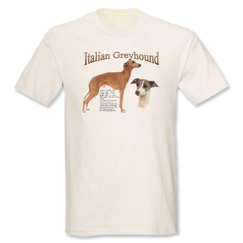 Natural Italian Greyhound T-Shirt