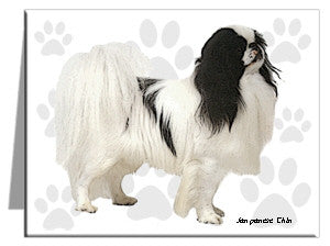 Japanese Chin Note Cards