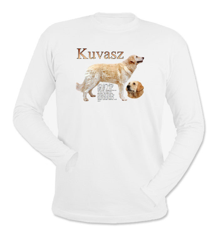 White Kuvasz Long Sleeve T-Shirt