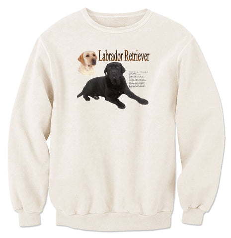Natural Labrador Retriever Sweatshirt