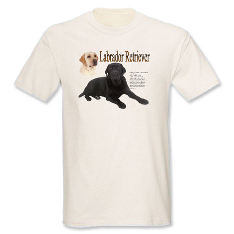 Natural Labrador Retriever T-Shirt