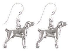 Labrador Retriever Sterling Silver Earrings