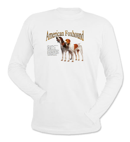 White American Foxhound Long Sleeve T-Shirt