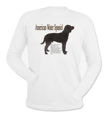 White American Water Spaniel Long Sleeve T-Shirt