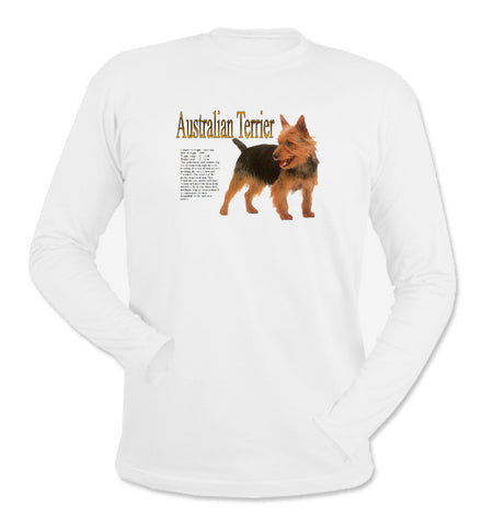 White Australian Terrier Long Sleeve T-Shirt