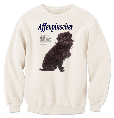 Natural Affenpinscher Sweatshirt