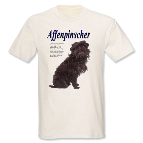 Natural Affenpinscher T-Shirt