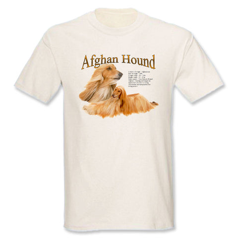 Natural Afghan Hound T-Shirt