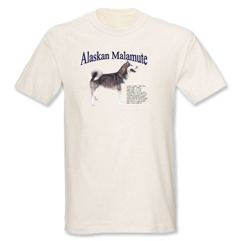Natural Alaskan Malamute T-Shirt