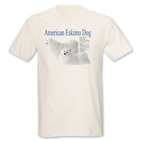 Natural American Eskimo Dog T-Shirt