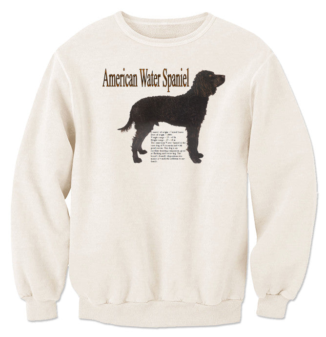Natural American Water Spaniel Sweatshirt