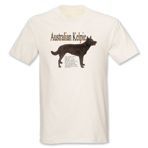 Natural Australian Kelpie T-Shirt