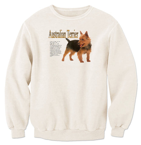 Natural Australian Terrier Sweatshirt