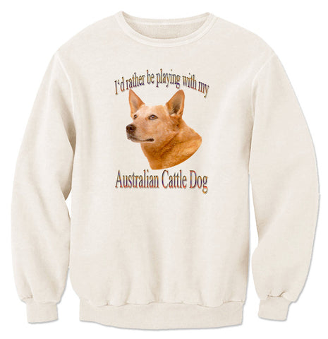 Natural Australian Cattle Dog Sweatshirt