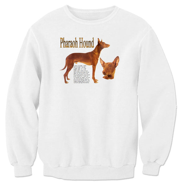 White Pharaoh Hound Sweatshirt