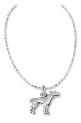 Pointer Sterling Silver Necklace
