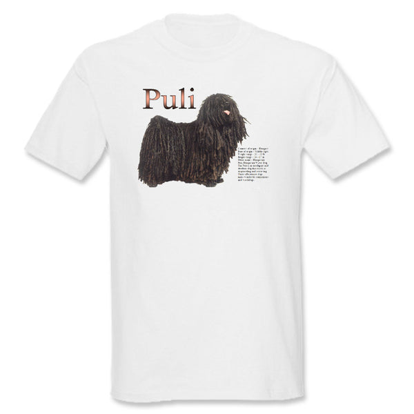 White Puli T-Shirt