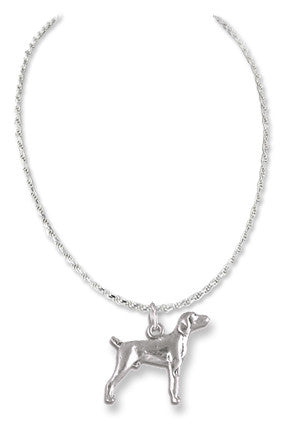 Labrador Retriever Sterling Silver Necklace