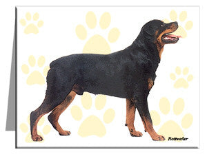Rottweiler Note Cards