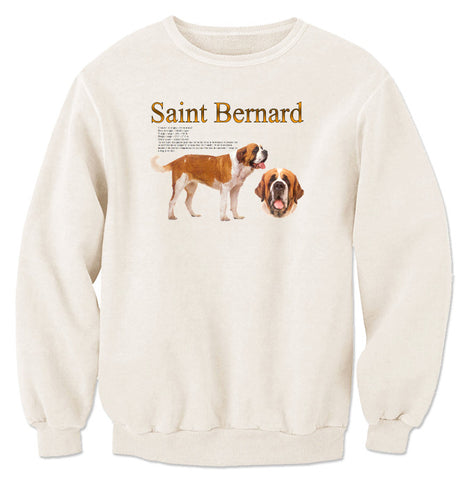 Natural Saint Bernard Sweatshirt