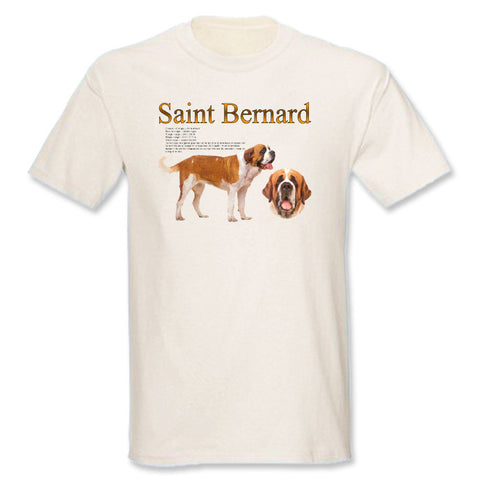 Natural Saint Bernard T-Shirt