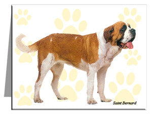 Saint Bernard Note Cards