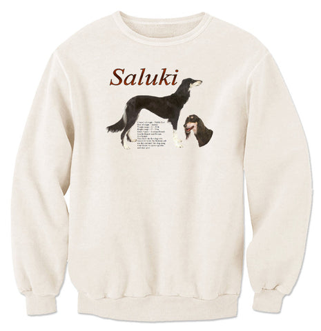 Natural Saluki Sweatshirt