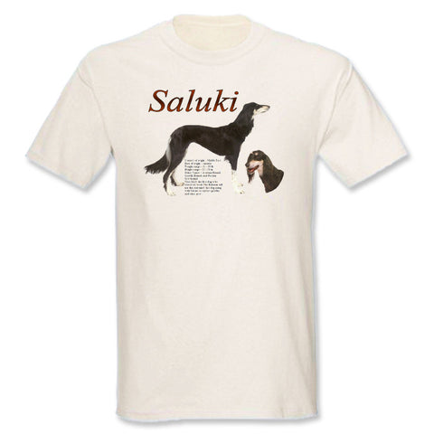 Natural Saluki T-Shirt