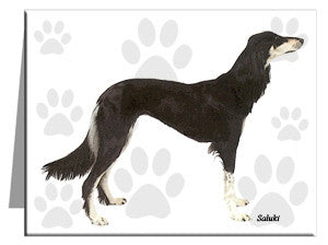 Saluki Note Cards