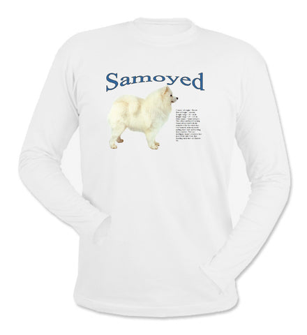 White Samoyed Long Sleeve T-Shirt