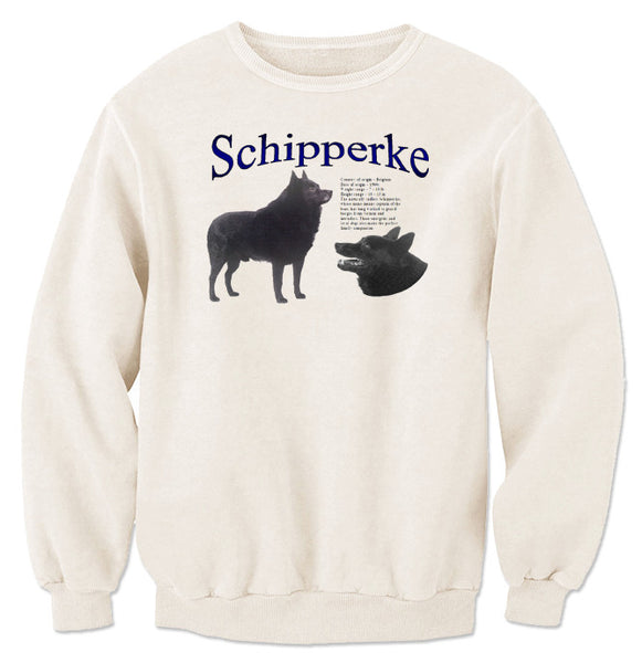 Natural Schipperke Sweatshirt
