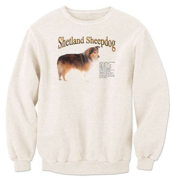 Natural Shetland Sheepdog Sweatshirt