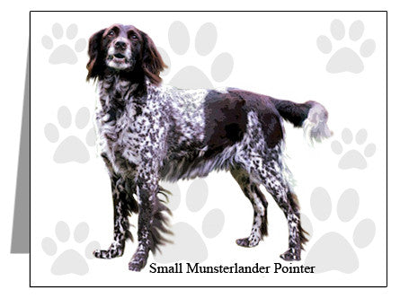 Small Munsterlander Pointer Note Cards