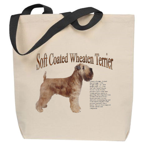 Soft-Coated Wheaten Terrier Tote Bag