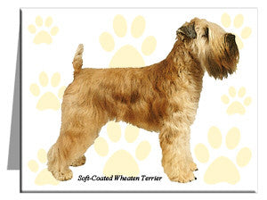 Soft-Coated Wheaten Terrier Note Cards