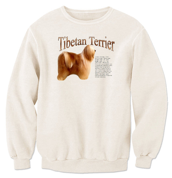 Natural Tibetan Terrier Sweatshirt