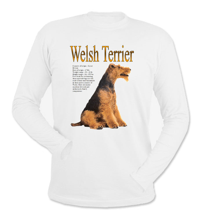 White Welsh Terrier Long Sleeve T-Shirt