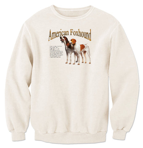 Natural American Foxhound Sweatshirt