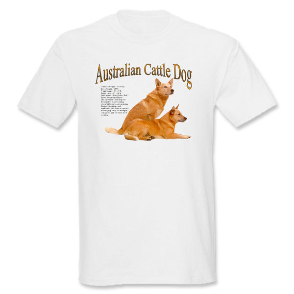 White Australian Cattle Dog T-Shirt