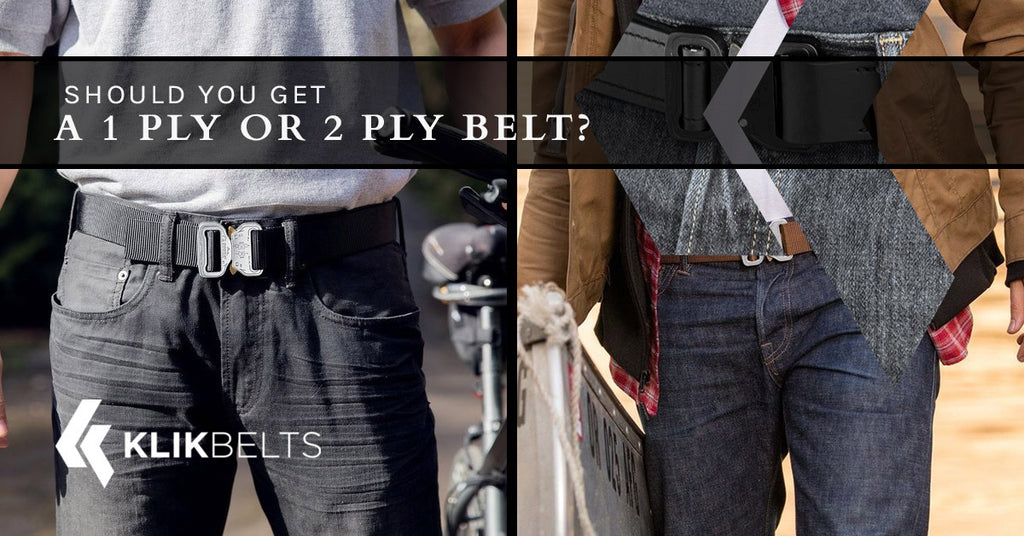 Should You Get A 1 Ply or 2 Ply Belt?